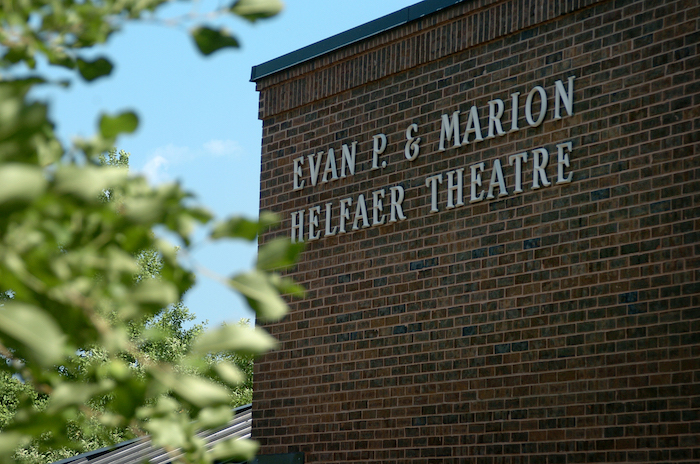 Helfaer Theatre. Photo courtesy of Marquette University.