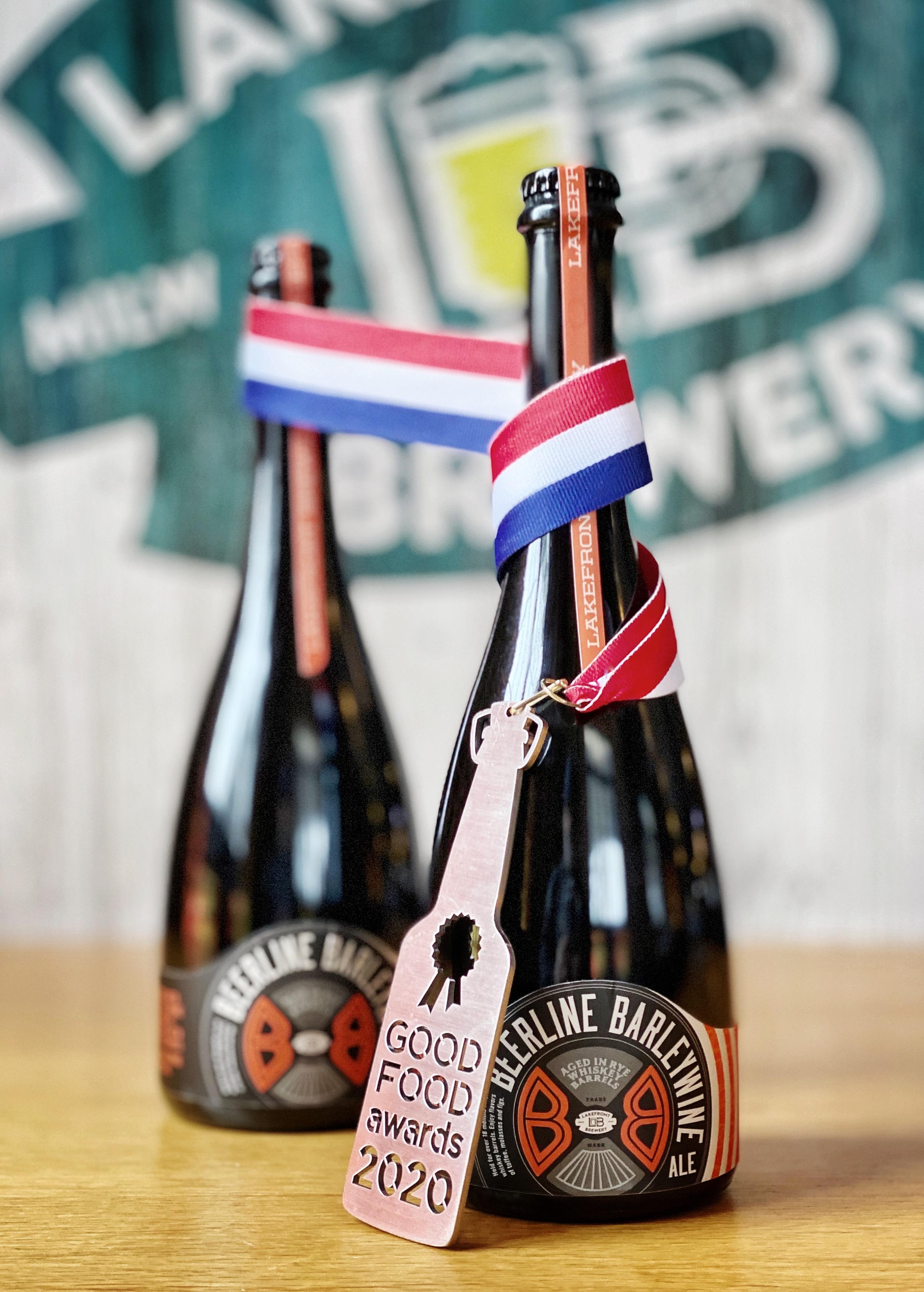 Lakefront Brewer Wins at 2020 Good Food Awards™ for Beerline Barleywine