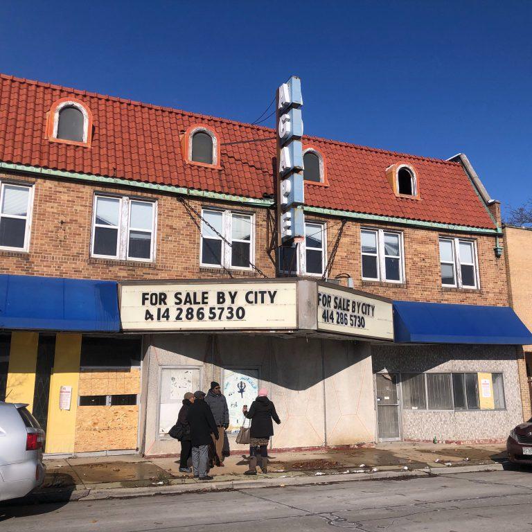 Former Villa Theater on W. Villard Ave. Photo by Jeramey Jannene.