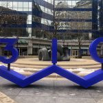 Eyes on Milwaukee: Big Blue Building Adds Signature Sign