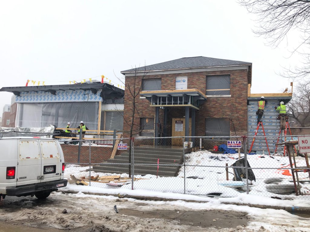 Future North Shore Bank branch. Photo by Jeramey Jannene.