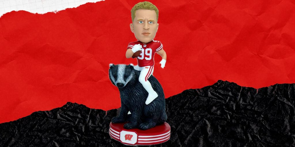 J.J. Watt. Image courtesy of the National Bobblehead Hall of Fame and Museum.