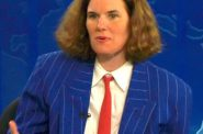 Paula Poundstone. Photo by Phil Konstantin and is in the Public Domain.