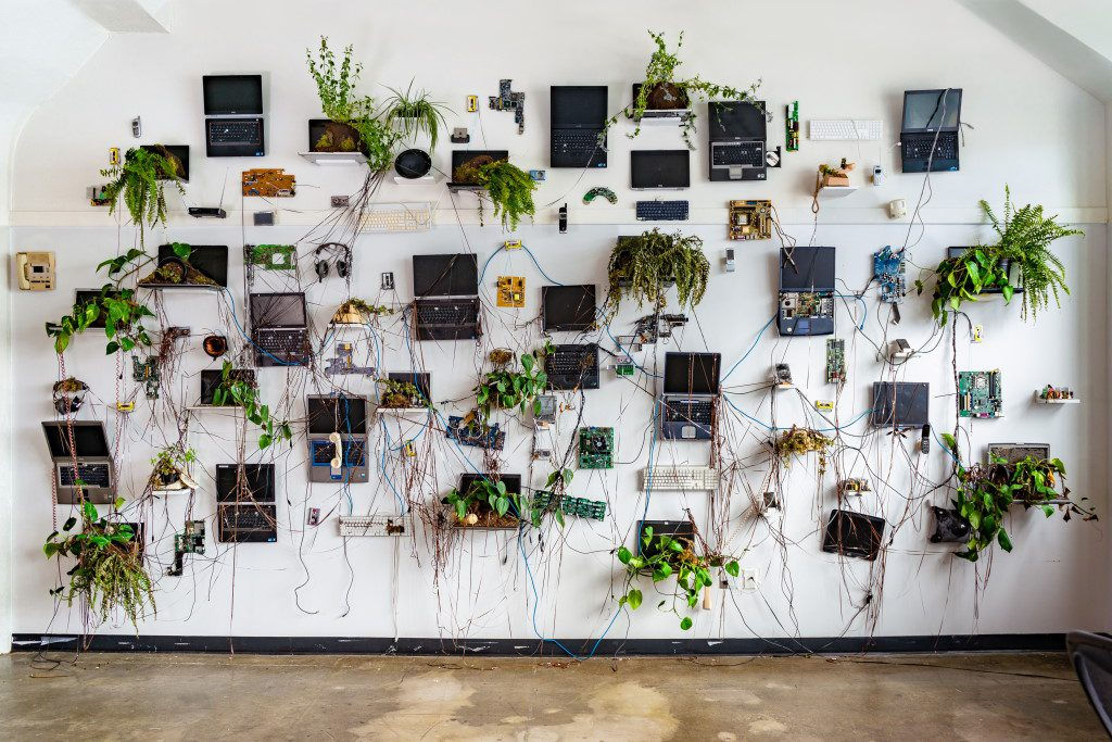 The Wall After Us by Nathaniel Stern. Photo courtesy of MOWA.