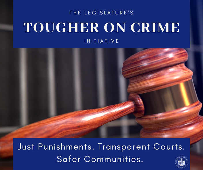 "Sen. Craig Authors Bills in ""Tougher on Crime"" Initiative"