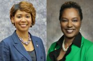Ald. Nikiya Dodd and Sen. Lena Taylor.