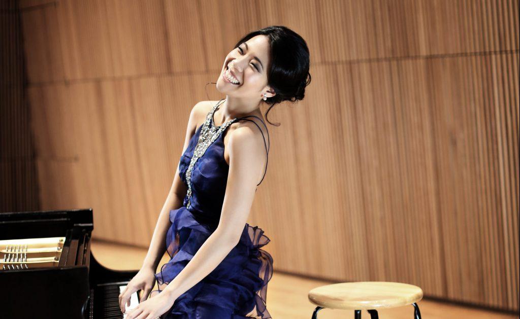Joyce Yang. Photo from the Milwaukee Symphony Orchestra.