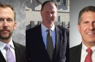 Theo Lipscomb, Jim Sullivan and Bryan Kennedy. Images from the candidates.