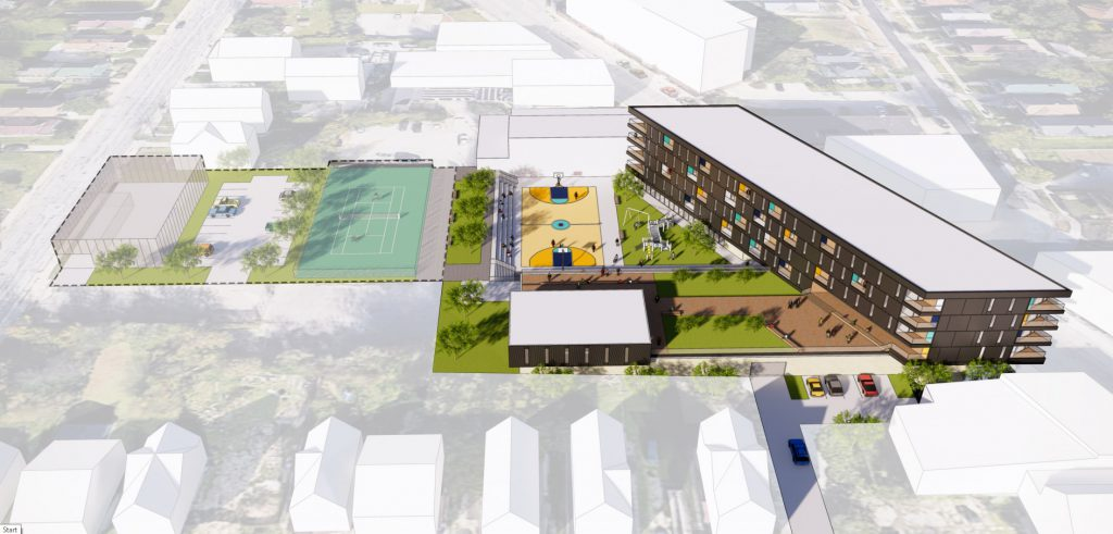 3317 N. Martin Luther King Jr. Dr. rendering. Rendering by Workshop Architects.