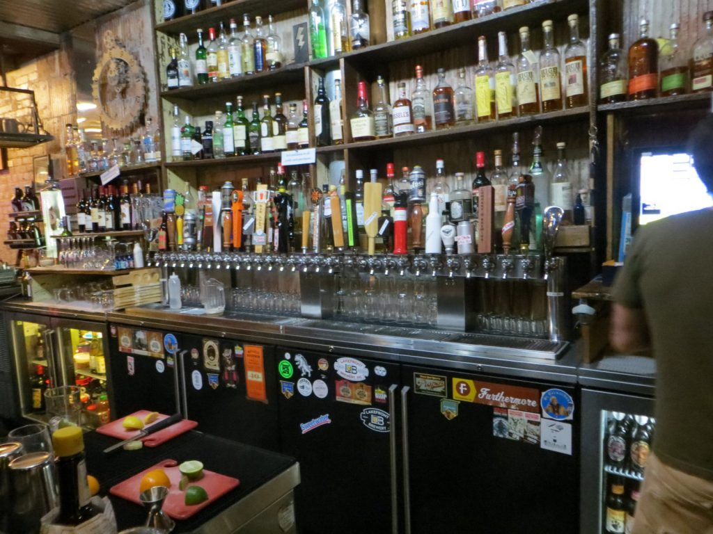 The Riverwest Filling Station taps. Photo by Michael Horne.