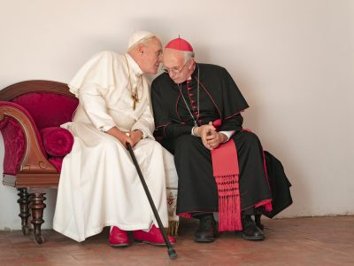 """Oscar Films: Mischievous """"Two Popes"""" Packs a Punch"""