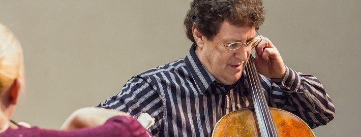 Cellist Perry Karp