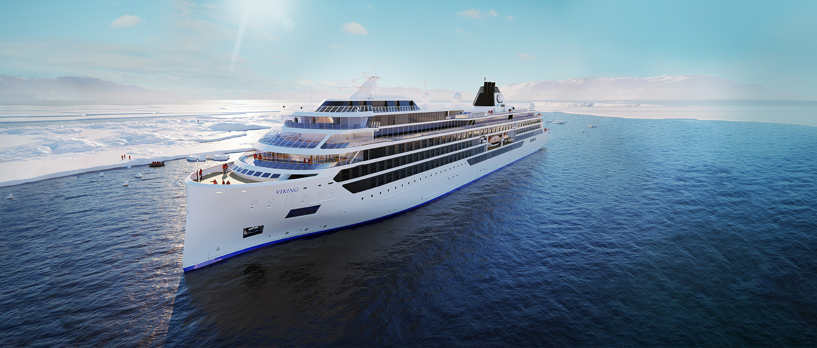 Viking Octanis rendering. Image from Viking Cruises.
