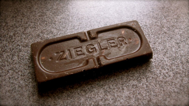 Although the company has been gone since the mid-1970s, Ziegler Giant Bars are still made. A local candy store makes the bars using the original recipe and original molds. Carl A. Swanson photo.