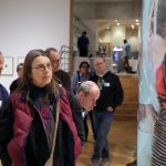 Photo Gallery: Urban Milwaukee Members Explore the Haggerty Museum