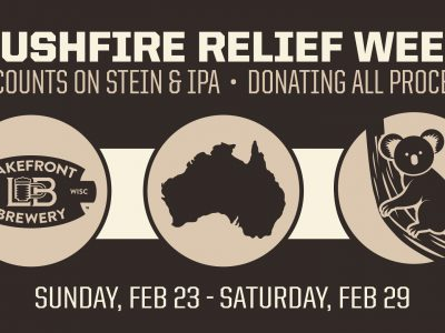Lakefront Brewery Raises Funds for Australian Bushfire Relief