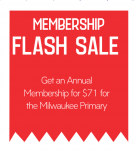 Flash Sale: Special Election Day Membership Deal