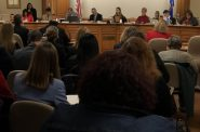 The Assembly Health Committee holds a public hearing on sexual assault evidence kits. Photo by Melanie Conklin/Wisconsin Examiner.