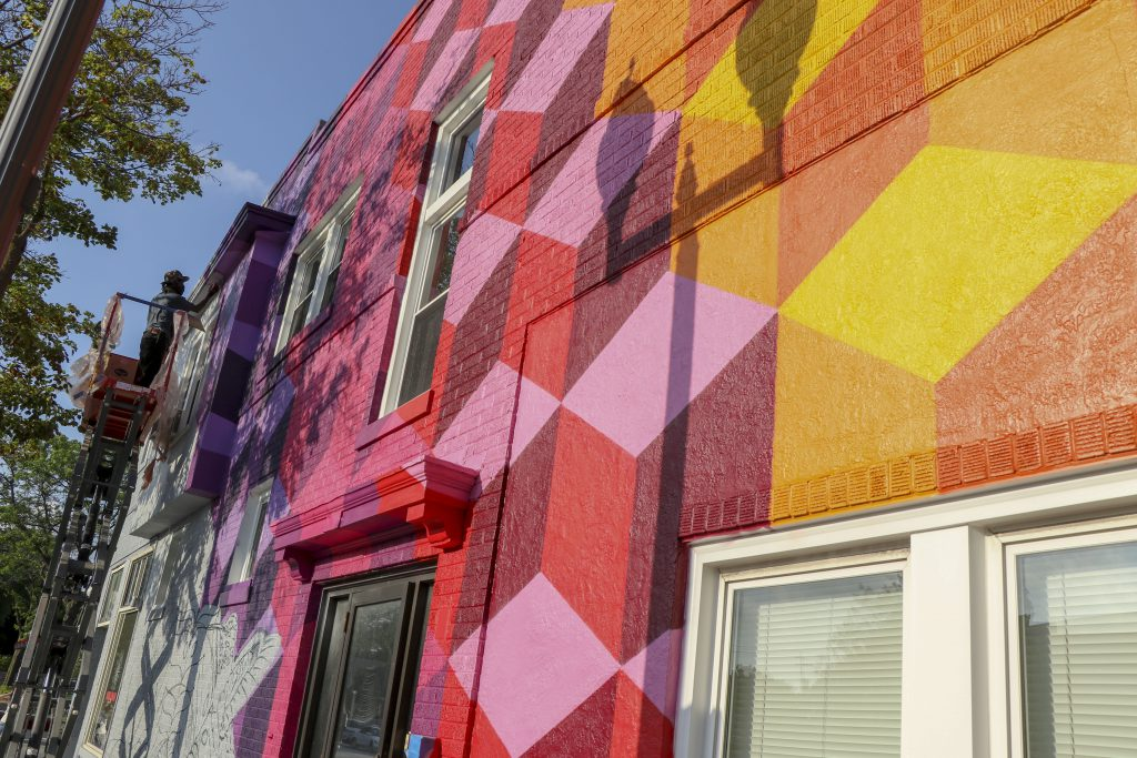 Mural. Photo courtesy of the City of Wauwatosa.