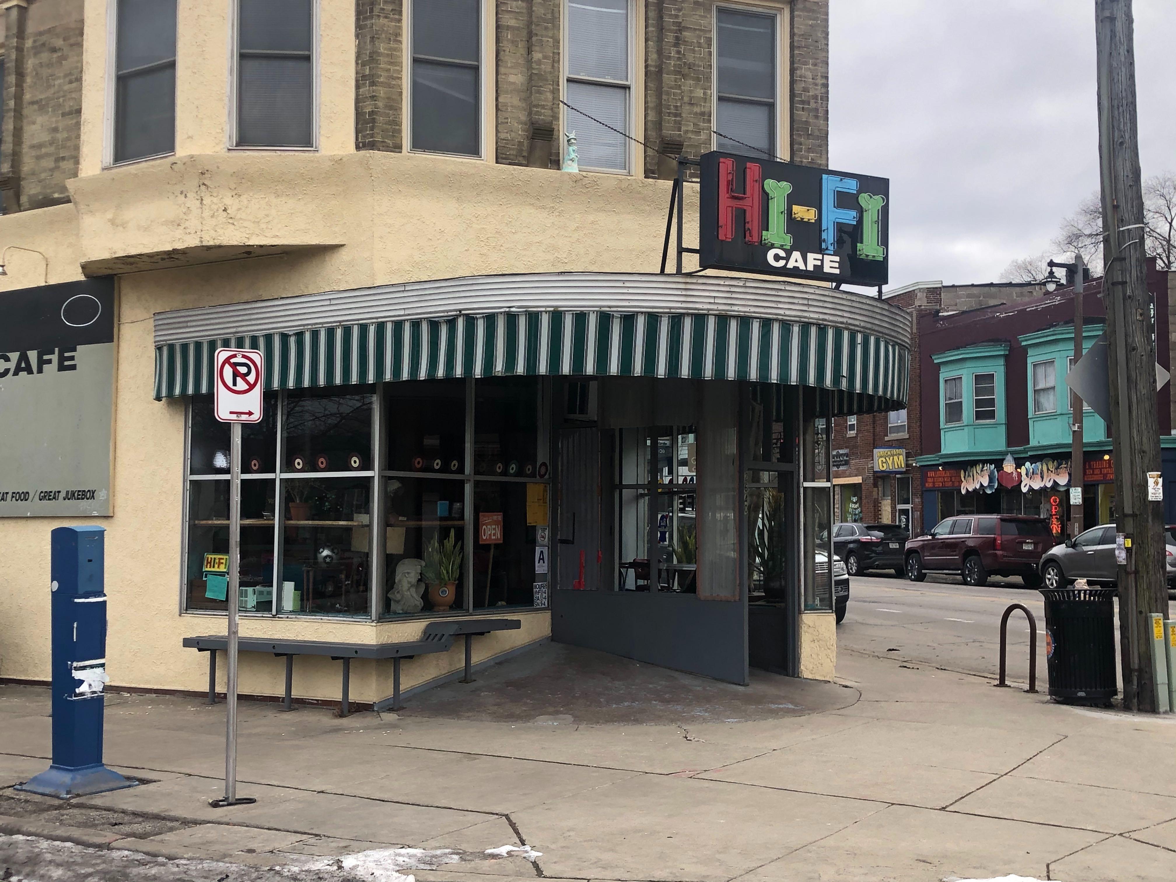 Hi-Fi Cafe, Photo by Jeramey Jannene.