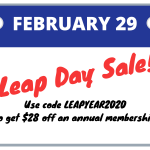 Flash Sale: Celebrate Leap Day with a Membership Sale