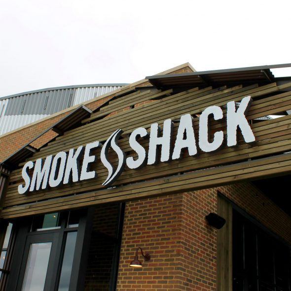 Smoke Shack Express Exterior. Photo courtesy of Hospitality Democracy.