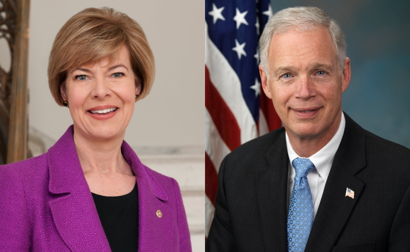 Tammy Baldwin and Ron Johnson