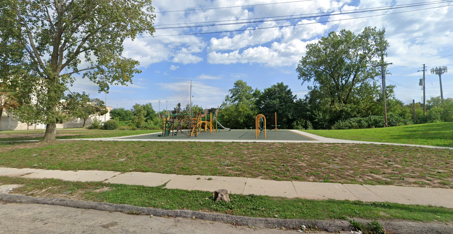 New playground at 31st and Galena. Image from Google Maps.