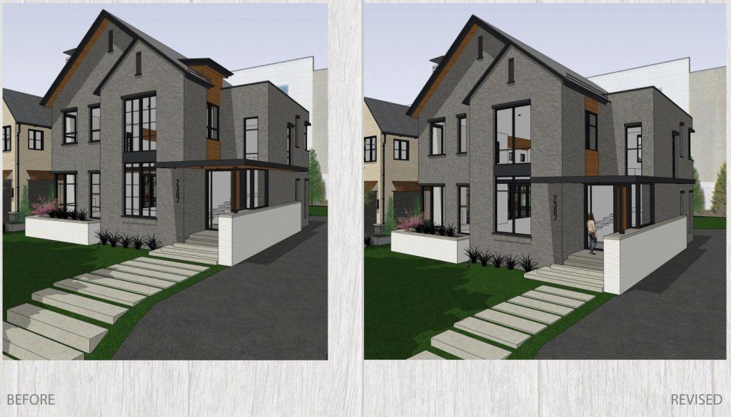 Gokhman House Design. Renderings by Korb + Associates Architects.