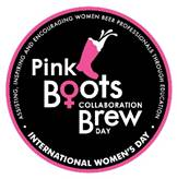 Pink Boots Society Collaboration Brew Day Fundraiser