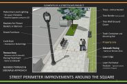 Cathedral Square Friends streetscaping suggestions. Image from Cathedral Square Friends.