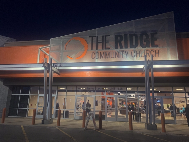 The Ridge Community Church in Greenfield, a suburb of Milwaukee, held a vigil Thursday, Feb. 27, 2020, for the victims killed in the Feb. 26, 2020 shooting at Molson Coors in Milwaukee. Photo by Alana Watson/WPR.
