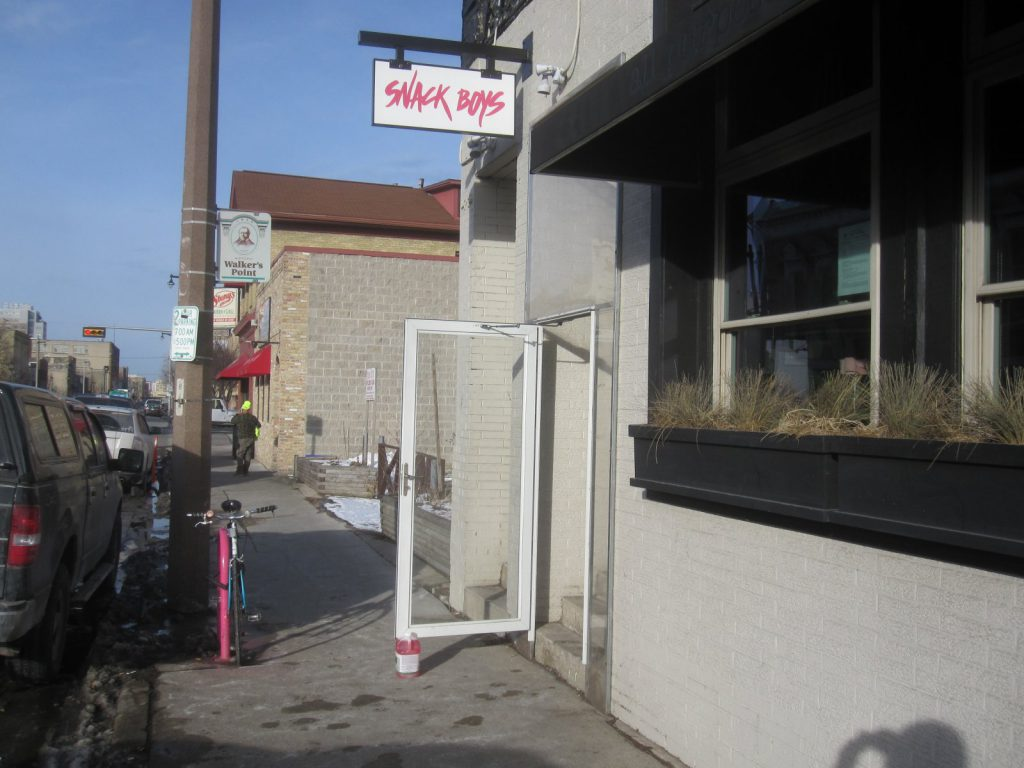 The Walker's Point Snack Boys (814 S. 2nd St.) location. Photo by Michael Horne.
