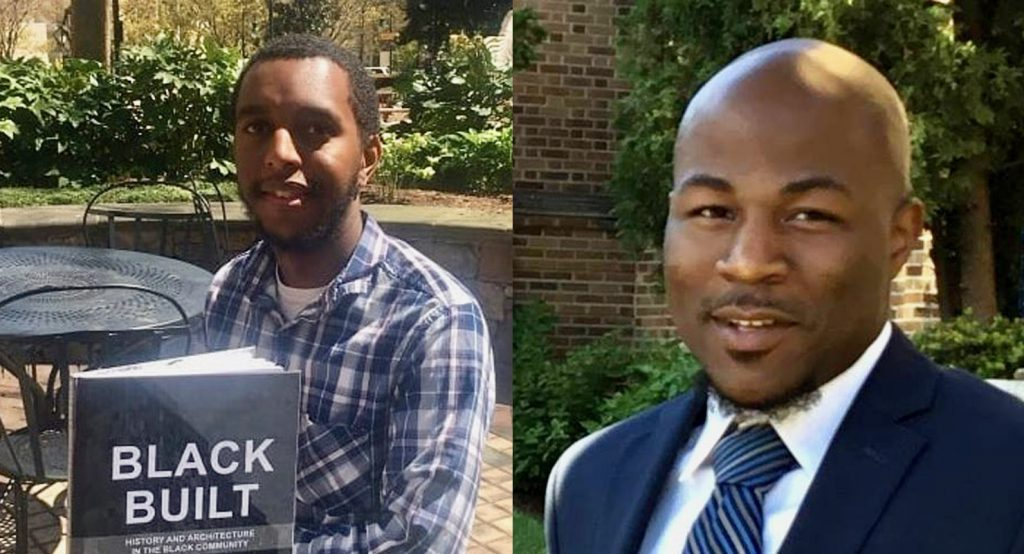 Paul Wellington (left) and Rick Banks have made it their professional and personal missions to find ways to support black Milwaukee businesses. Photo courtesy of MKE Black/NNS.