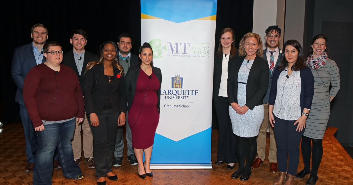 Marquette to host annual Three Minute Thesis competition