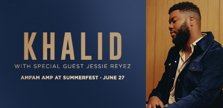 Summerfest Announces Khalid to Headline NEW American Family Insurance Amphitheater on June 27 with Special Guest Jessie Reyez
