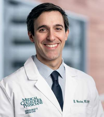 Dr. Ben Weston. Photo courtesy of the Medical College of Wisconsin.