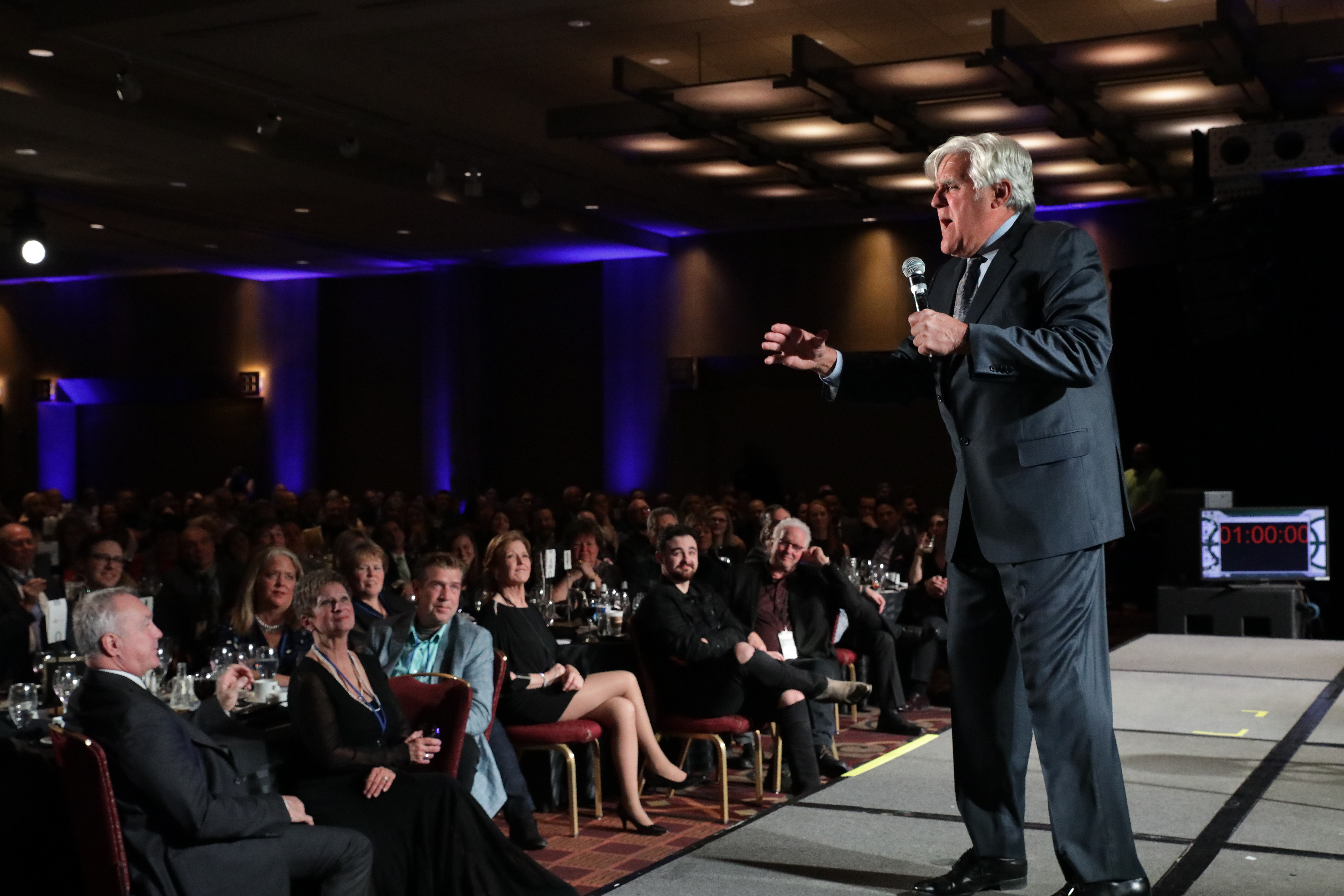 Comedy legend, Jay Leno performed at the Grand Slam Charity Jam. Photo by Erol Reyal.