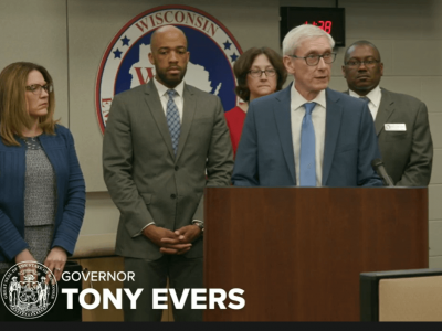 Evers Addresses COVID-19 in Wisconsin