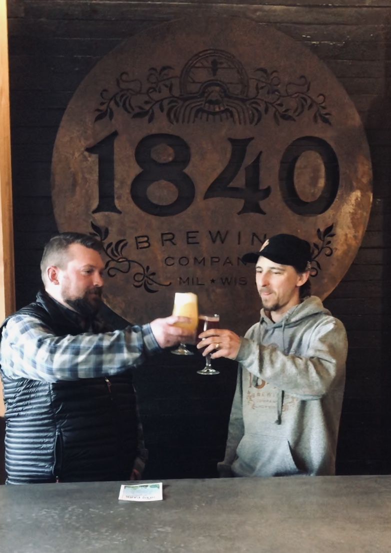1840 Brewing Company. Photo courtesy of the Washington County Park and Trail System.