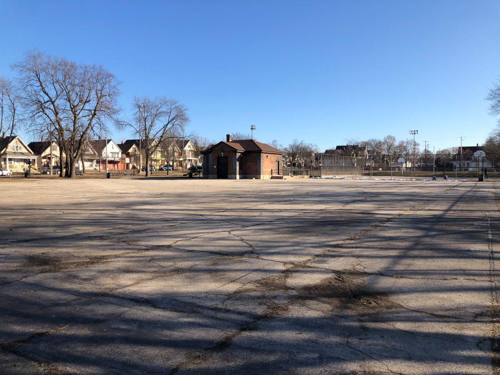 Modrzejewski Playfield. Photo by Jeramey Jannene.