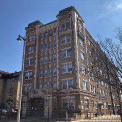 Sheridan Apartments at 2435 W. Wisconsin Ave. Photo by Jeramey Jannene.
