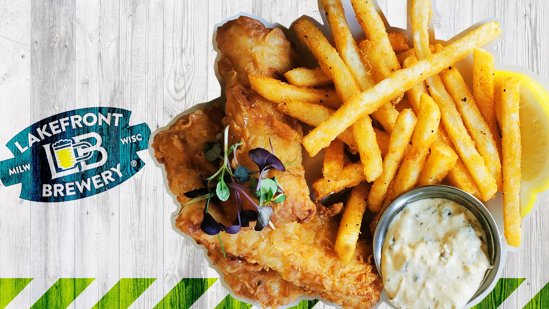 The Friday Fish Fry is Back at Lakefront Brewery!