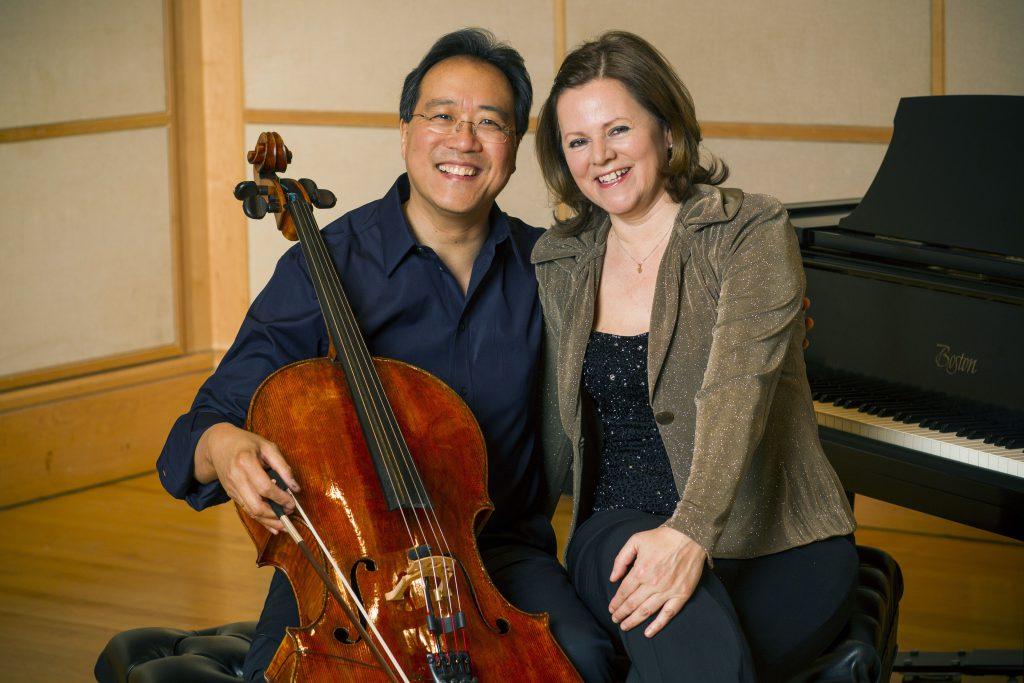 Yo-Yo Ma and Kathryn Stott. © Todd Rosenberg Photography 2012.