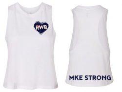 White women's tshirt RWB