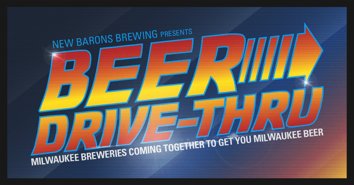 Beer Drive Thru. Image by New Barons Brewing Cooperative.