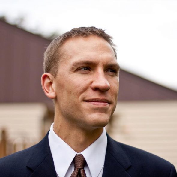 Chris Larson. Photo from the candidate's website.