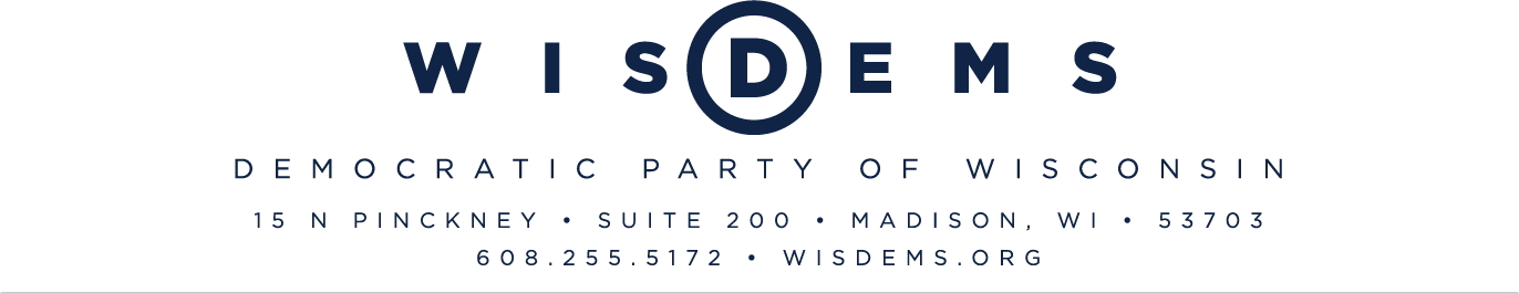 Democratic Party of Wisconsin Statement on Secretary Sonny Perdue Visit