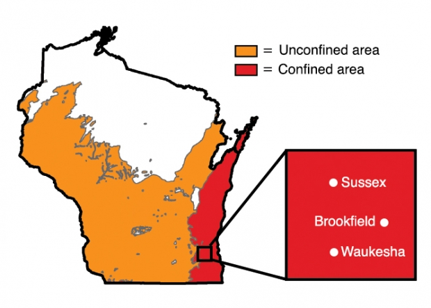 Map courtesy of the University of Wisconsin Water Resources Institute