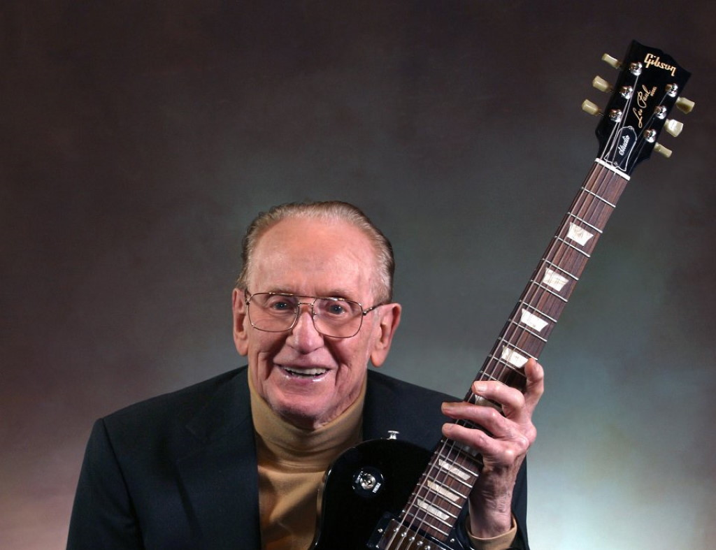 Les Paul. Photo by Erol Reyal.